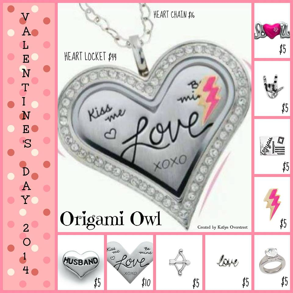 Valentines day gift ideas from origami owl jeuxipadfo Images